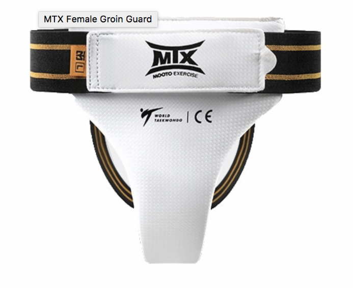 FEMALE GROIN GUARD